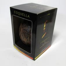 promotional packaging corrugate coconut