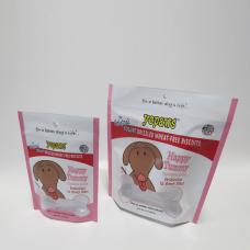 pet food pouch with window